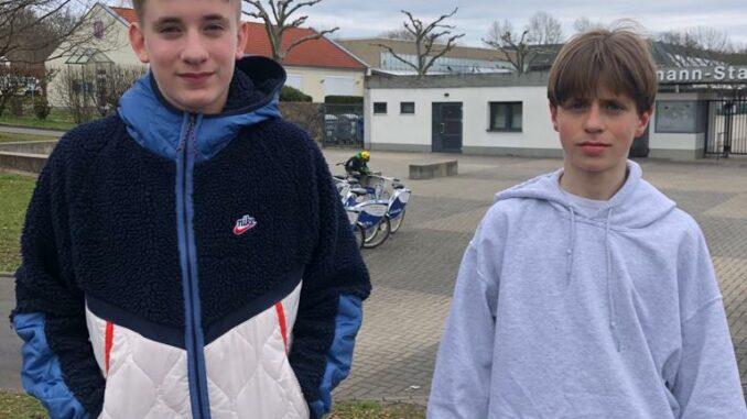 Jasper und Niklas nach dem HBV-Lehrgang